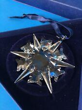 Stunning 2002 Swarovski Christmas Crystal Ornament Mib Mint Austria Limited Edit