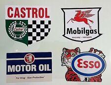 "/""AMPOL/"" PROMO PETROL SERVICE STATION VINYL DECAL STICKER OIL Vespa AUSTRALIA"