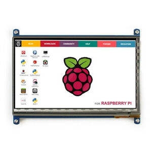 7 inch HDMI LCD 1024×600 Resolution Capacitive Touch Screen for Raspberry pi