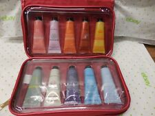 Crabtree & Evelyn PERFECT 10 Hand Therapy Cream Gift In Travel Bag NEW