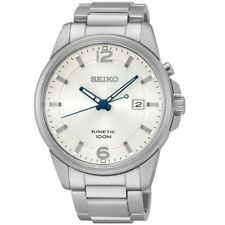 Seiko Kinetic SKA663 P1 Silver Dial Men's Classic Automatic Analog Sports Watch