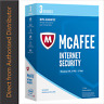 Intel McAfee internet Security 2017, 3 PCs-1 Year Online Key-24 Hours Delivery !