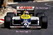 Nelson Piquet Williams FW11B Grand Prix de Mónaco 1987 fotografía 2