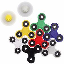 HAND SPINNER TRI FIDGET CERAMIC BALL DESK TOY EDC STOCKING STUFFER KIDS OR ADULT