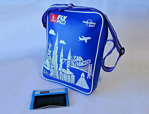 Emirates Fly with Me lonely planet kids ~ Messenger/Flight Bag & Wallet Combo