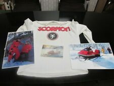 1972 Scorpion Super Stinger Ii 440 Vintage Snowmobile Shirt, manual, posters