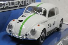SCALEXTRIC C3745 VW VOLKSWAGEN BEETLE BATHURST 1963 #54A 1/32 SLOT CAR DPR