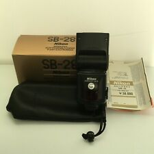 [Mint in BOX] Nikon SB-28 Speedlight Shoe Mount Flash From Japan