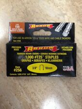 "ARROW T25 Round Crown Staples, 3/8""/10mm; 1000/pk"