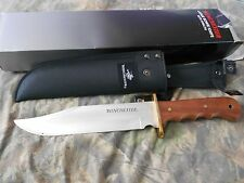 Winchester Bowie Knife W/ Sheath NIB.