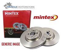 NEW MINTEX FRONT BRAKE DISCS SET BRAKING DISCS PAIR GENUINE OE QUALITY MDC1009