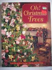Oh! Christmas Trees quilt crafts hoilday trimmings decor ornaments stockings B