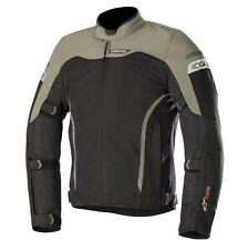 Moto Veste Tex Alpinestars Leonis Drystar Air Couleur : Noir/Vert Taille: L