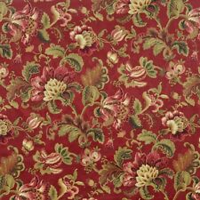 Mill Creek NOBLESSE Jacobean Floral RUBY Home Decor Drapery Sewing Fabric BTY