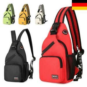 Damen Brusttasche Schultertasche Crossbag Rucksack Reise Sport Tasche Outdoor