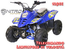 MIDI QUAD BIG FOOT 125cc!! Telecomando miniquad quad minimoto mini moto cross