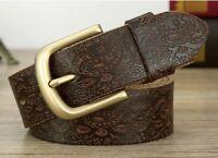 Stiftschnalle für Männer Ledergürtel Ersatz Snap-On 40mm Gürtel Bronze Messing A