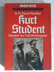 Kurt Student, General der Fallschirmtruppen, Moewig-Dokumentation 1973