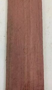 (3) Lot De 3, Purpleheart Fixation Bandes Bois Bâtons Luthier Lutherie