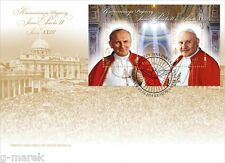 FDC - The canonization of Popes John Paul II and Pope John XXIII -2014