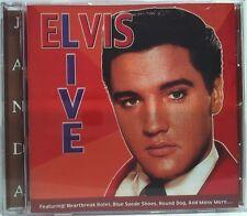 ELVIS LIVE - CD 12 TRACK