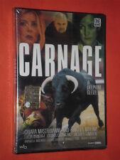 CARNAGE-  CON: CHIARA MASTROIANNI - DVD FILM  - nuovo e sigillato-