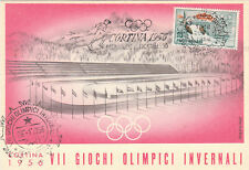 * SPORT INVERNALI - Cortina '56, VII Giochi Olimpici -2
