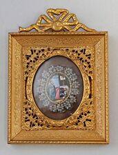 8369019 Altes Miniaturbild Heiliger Ostkirche handbemalt dekorativ