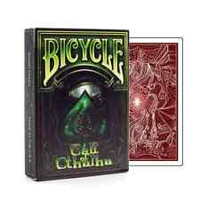 CARTE DA GIOCO BICYCLE CALL OF CHTULHU,poker size, red back unlimited