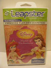 Leap Frog Leapster Learning Game Disney Worlds of Enchantment   **New**