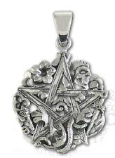 Dryad Designs Sterling Silver Cimaruta Pentacle Pendant Wiccan Paul Borda