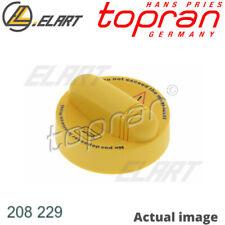 OIL FILLING PORT SEALING CAP FOR RENAULT DACIA OPEL F4R 874 R9M 402 LODGY TOPRAN