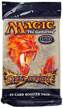 Magic Mtg Onslaught Factory sealed Booster Pack X 3 !