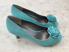 Jacques Vert Zapatos Verde Talla 4/37 Nuevo En Caja