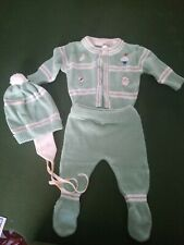 Vintage New Born Sears Pastel Boys Winter Outfit