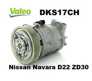 VALEO Air Con A/C Compressor CM5854 FITS Nissan Navara D22 ZD30 DSDKS17CH