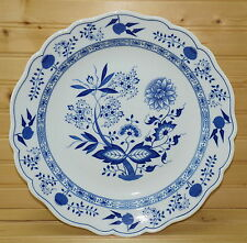 "Hutschenreuther Blue Onion Large Chop Plate or Pasta Serving Bowl, 13¼"" x 1 7/8"""
