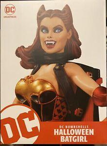 DC Collectibles Comics Bombshells: BATGIRL! NEW HALLOWEEN Statue Cover Starfire