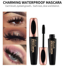 4D soie fibre Cil Mascara Extension Maquillage noir imperméable cils Grace