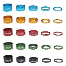 """KCNC HOLLOW 1 1/8"""" HEADSET SPACER  3 5 10 14 20MM cycling  black red blue green"""