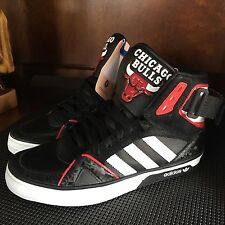 Chicago Bulls Adidas Originals Space Diver Shoes Boys Size 4.5  Rare