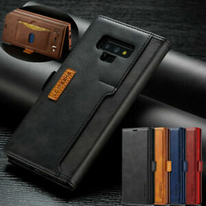 Flip Case Slim Leather Wallet Stand Phone Cover For Samsung Note 20 Note 10 Plus