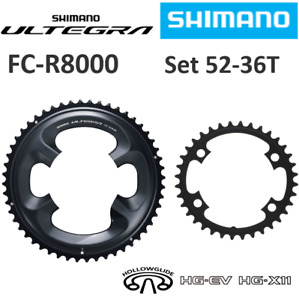 SHIMANO ULTEGRA FC-R8000 52T & 36T-MT Chainring Outer/Inner Crankset Y1W898030