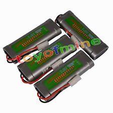 4pcs paquete de la batería recargable 7.2V 5000mAh Ni-Mh