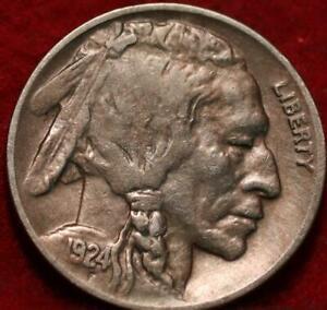 1924-D Denver Mint Buffalo Nickel