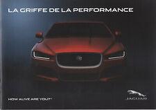 brochure 2014 JAGUAR XE, XF, XF SPORTBRAKE, XJ, F-TYPE CABRIOLET / COUPÉ !!!