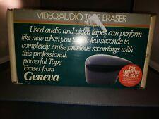 Geneva Video Audio Tape Eraser Pf-211 Computer Degausser