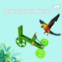 Parrot Pet Bird Bike Training Toys Educational Props Funny Foot Toy Bird Bike