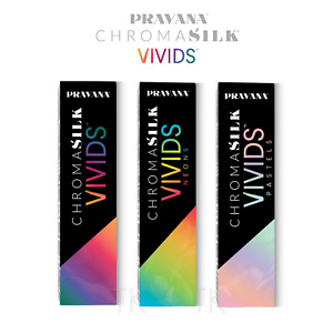 Pravana ChromaSilk Vivids 90ml 3oz Hair Colors NEW! (Choose Yours)
