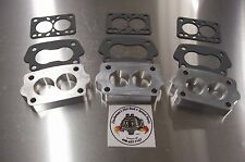 Fits Offenhauser Intake Tri Power Riser Rochester Small 2G Manifold Spacer 3 Pck